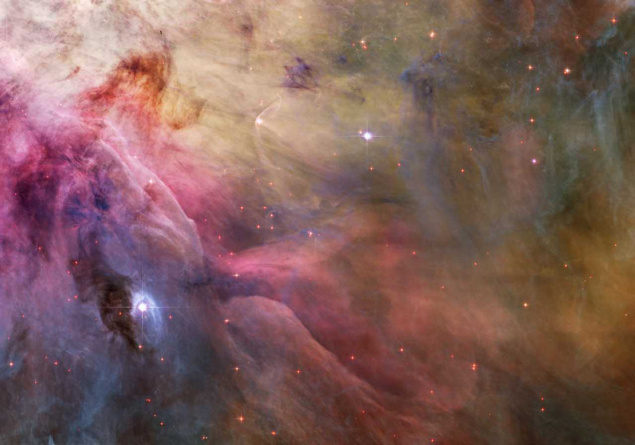 Hey space, you're old: The universe is older than previously thought: http://reut.rs/WHabsw  Photo: Variable star LL Orionis interacting with the Orion Nebula. REUTERS/NASA