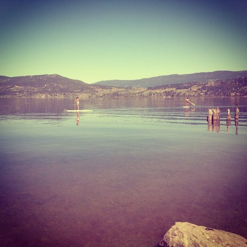 feels like summer in kelowna