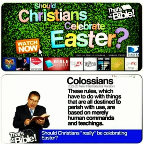 jaysenthegreat:  My church doesn't celebrate #easter. Visit incmedia.org to find out why