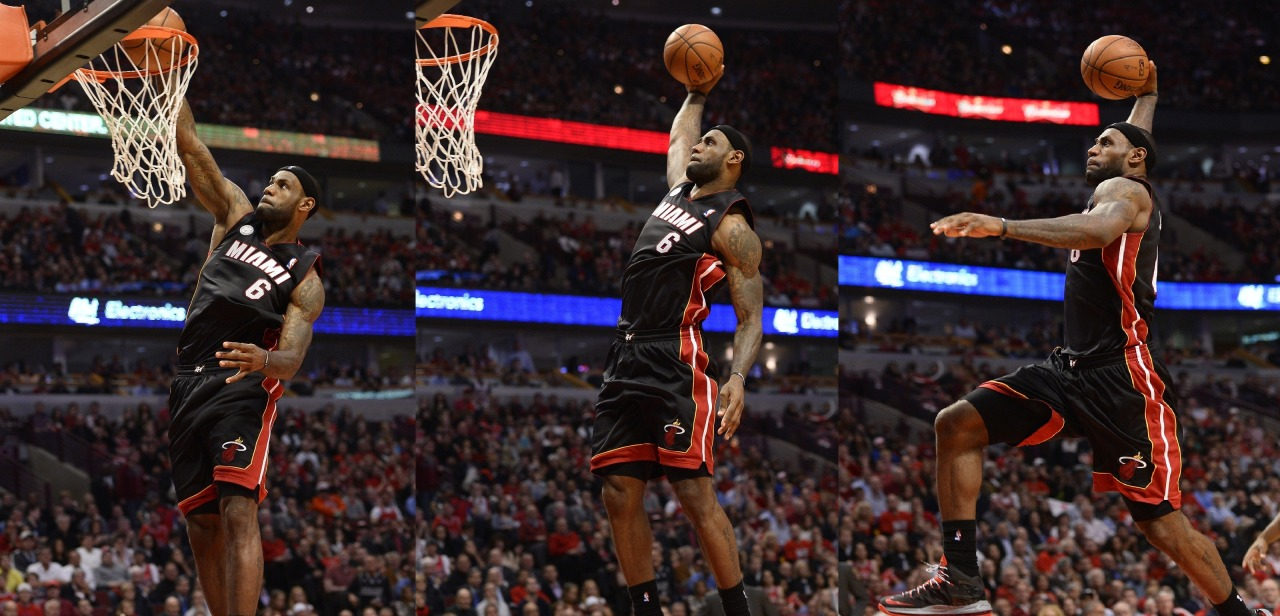 cbssports:  GAME 4: Heat 88, Bulls 65 To put Chicago's poor offensive performance into context: The rest of the Bulls team only outscored Derrick Rose by nine points in the third quarter.