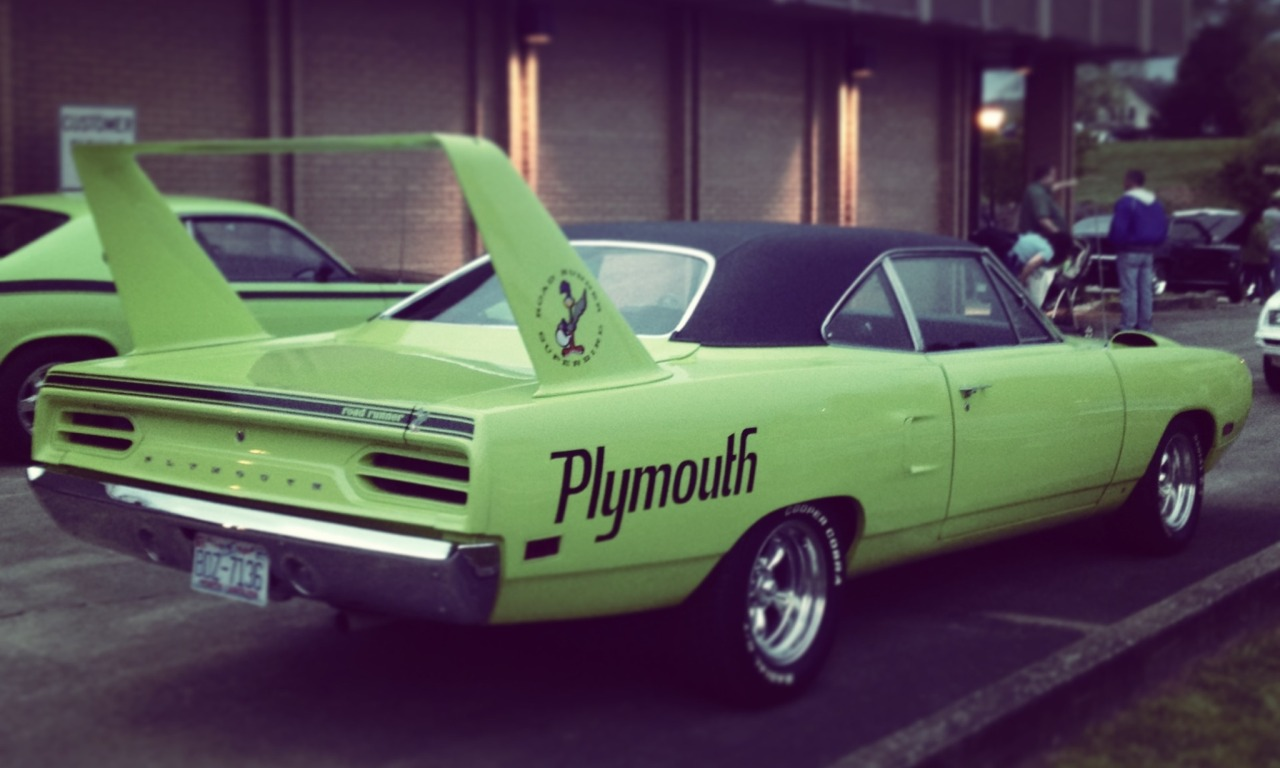 Jake Fleissner submitted: Plymouth Roadrunner Superbird Submission Sunday
