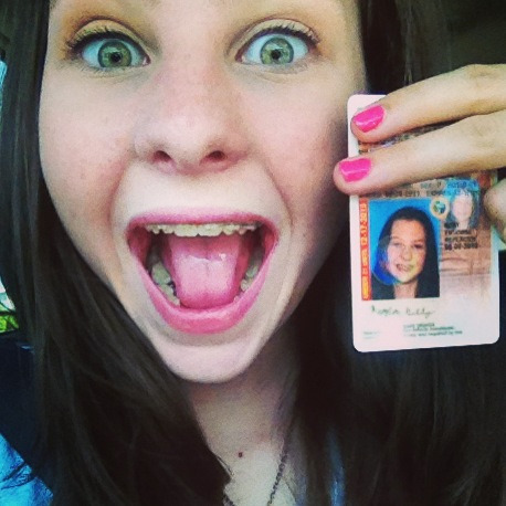 meaghanjelly:  GUESS WHO GOT THEIR LICENSE WOOP WOOP