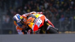 Pedrosa took a win on wet condition at Le Mans.But surprisingly Marquez got a podium from dropped ninth position.If race had more one lap, he would have overtaken Crutchlow. (via motogp.com · Pedrosa: 'I'm really happy with this one')