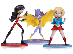 fyeahbatgirl:  Super Best Friends Forever figures, a San Diego Comic Con exclusive