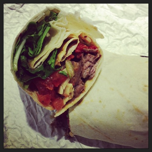 Steak Piadina wrap only at Romano Italian Street.