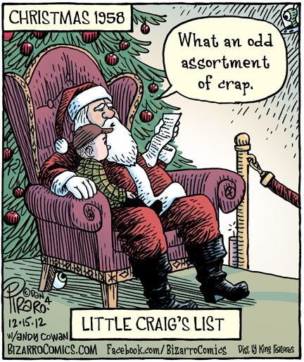 Little Craig's List (bizarrocomics.com via azspot)