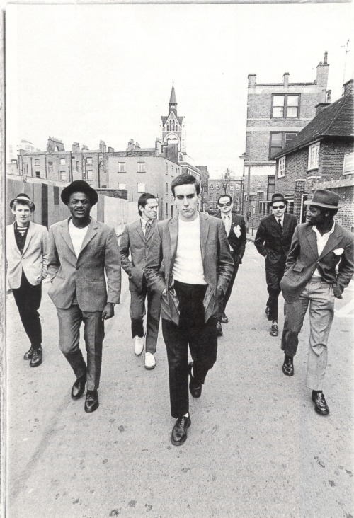 rocknrollhighskool:  The Specials in a promo shot for Coventry Tourism….allegedly via photomusik