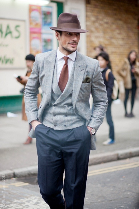David Gandy looking dapper, as always