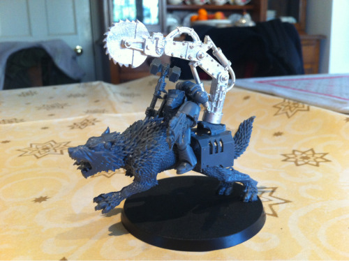 I did a thing… Its my Iron Wolf conversion :3