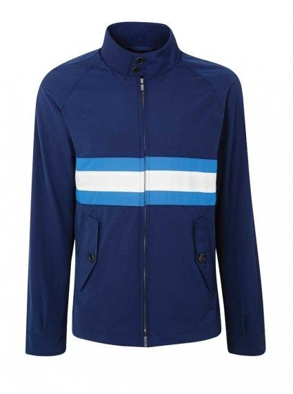 Baracuta G9. The ultimate classic windbreaker, newly interpreted in stripes and shades. Exclusively ours.  Here & Now: See what's new at BG