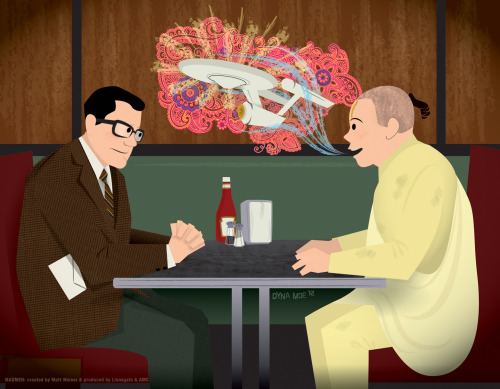 For ease of social sharing, I have put my Mad Men art up on http://madmenillustrated.tumblr.com. Please follow & reblog. Includes new Season 5 stuff (example above) never posted online before.  [Mad Men season 6 starts April 7th]