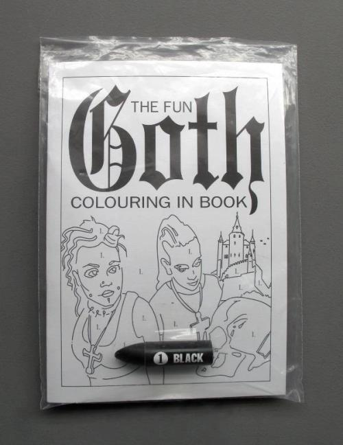zoomar:  The Fun Goth Colouring in Book (I prefer the not fun one)