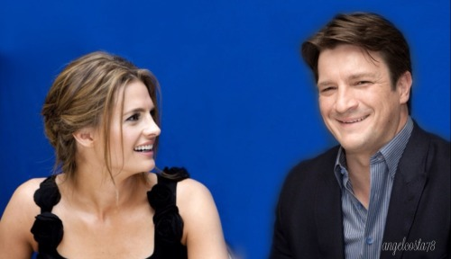 Stana & Nathan - Hollywood Foreign Press Association - 2011 Press Conference