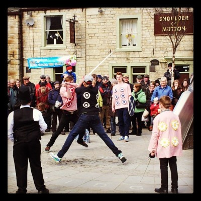 Violence! #HebdenBridge #PaceEgg #Easter #GoodFriday