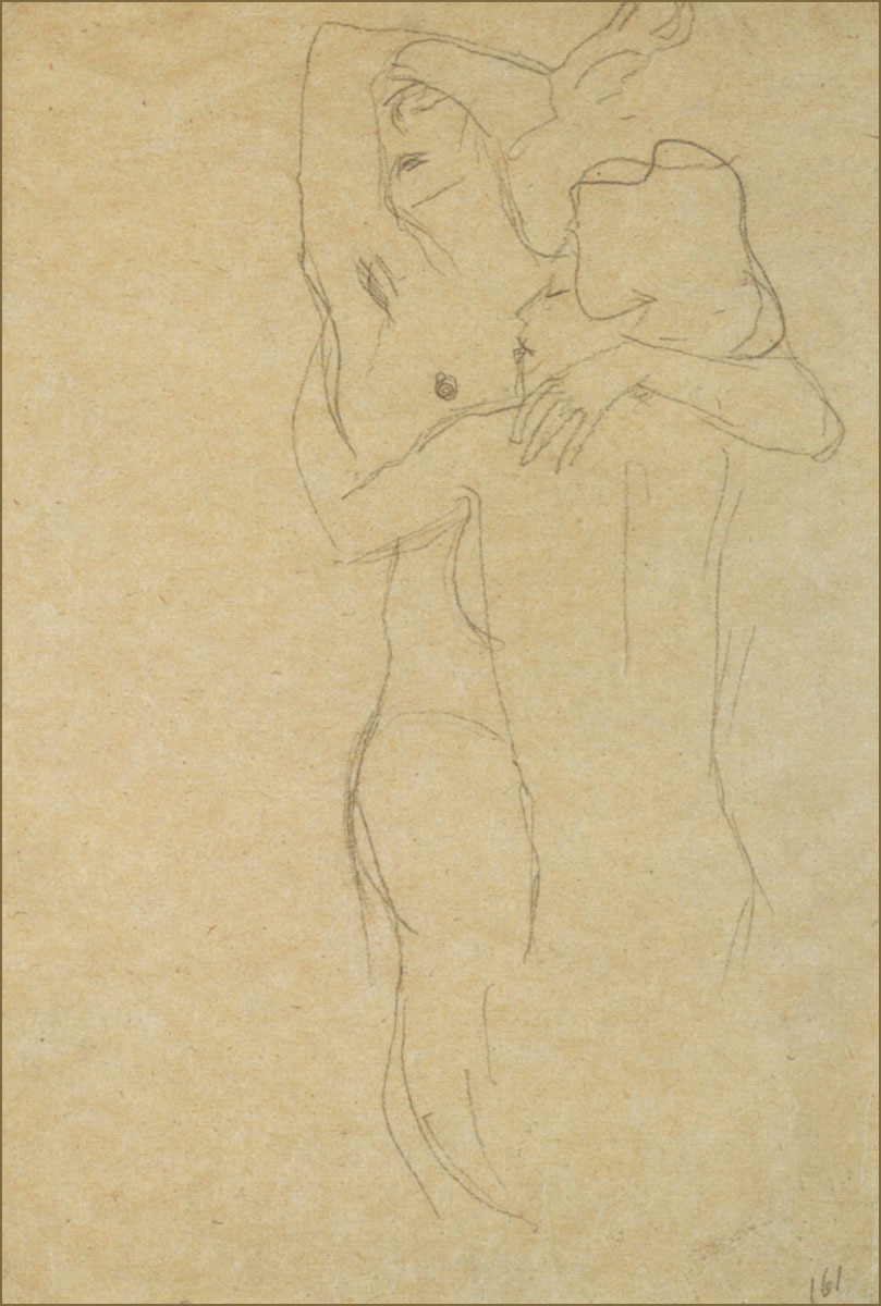 nevver:  The sensitive pencil line of Gustav Klimt