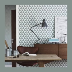 myidealhome:  graphic wallpaper (via INREDNINGSKURSER)