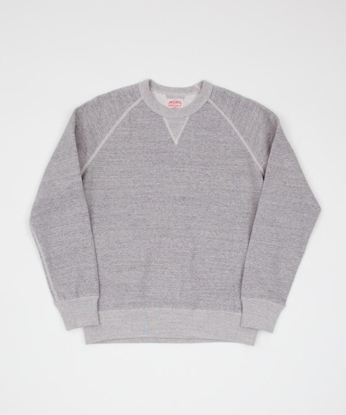 free-man:  The Real McCoy's 10oz Grey Sweat