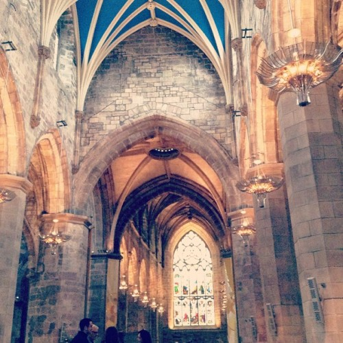 Cathedral in Edinburgh !! #explorescotland13  #latergram