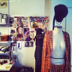 Obsessed with @rebecah_ryan design room! #design #fashiondesign #moodboard #workroom #lookbook #fashion #photoshoot #summer