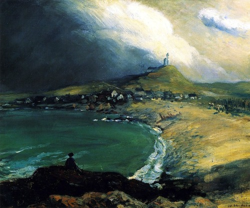 bofransson:  William Glackens - Cap Noir, Saint Pierre: 1903