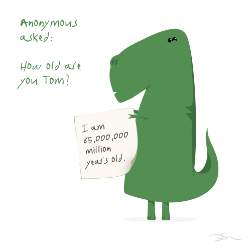 tomtrex:  Tom takes great care of his skin.