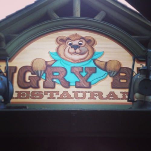 Hungry as a #bear #crittercountry #disney #disneyland #food