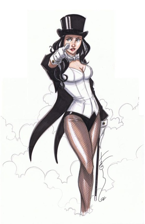 Happy Birthday, Zee! Zatanna by Tom Hodges Magic Monday