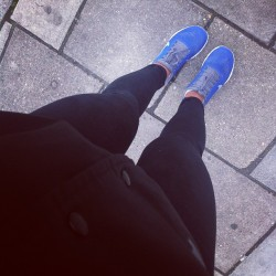 Grey, grey London. #nikefrees back to training with @goodtotone tonight after a short hiatus! (at In Da Bits)