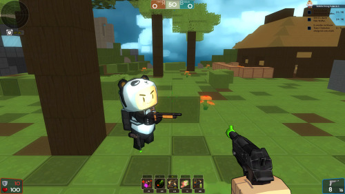 Cute panda alert! Here's a preview of the Panda Outfit on our test server. This outfit idea was voted for by you in the Outfit Design Contest, back in August 2012. Congrats to Gravebear who submitted the original idea!
