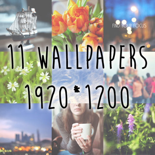 Wallpapers Pack I on Flickr.Via Flickr: It's a little gift from me to you all. I chose 11 pictures and turn them into wallpaper. So, you can download and use it for free.11 wallpapers 1920*1200DOWNLOAD Enjoy it! ;)