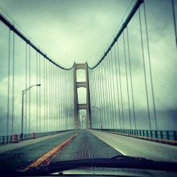 I love the bridge!(: #MackinawBridge