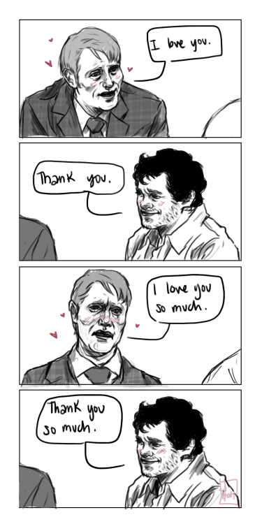 hcnnibal:  tell me this wasn't how the last 3 seasons went down insp [x]   im dying bc it's true