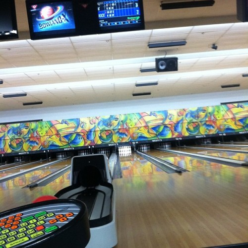 Bowling with Derek ❤😃 #bowling #derek #sofun #awesome #wooh