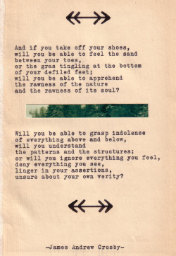jamesandrewcrosby:  Typewriter Poetry #288 by James Andrew Crosby