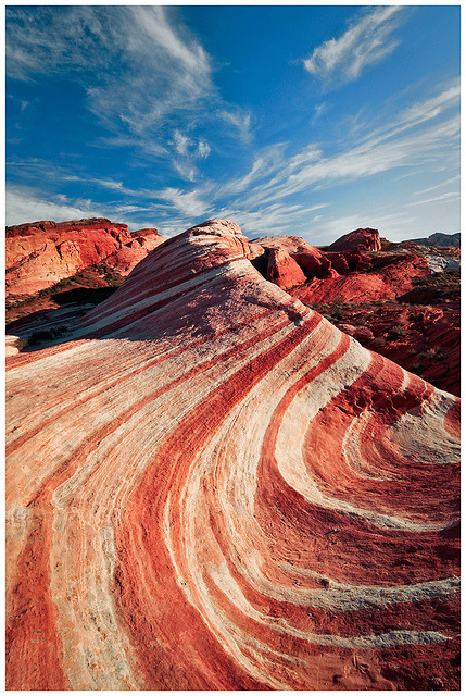 Fire Wave ♦ Valley of Fire State Park, Nevada, USA | by Joseph Rossbach