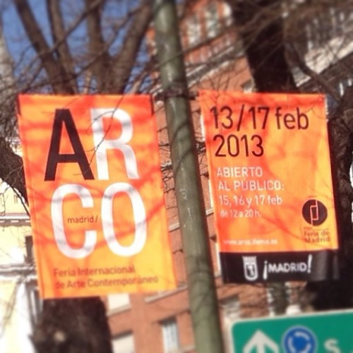 #arco feria internacional de arte contemporaneo #madrid 13/17/feb