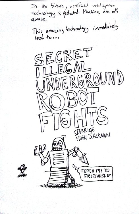 Secret illegal underground robot fights
