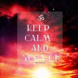 Feeling creative today .. #yoga #keepcalm #relax #chill #design #art #color #sun #moon #motivation #quote #text