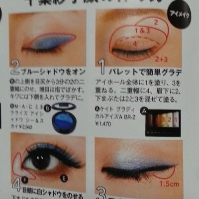 An eye #makeup tutorial from @happienuts July issue.