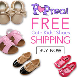 Popreal Cute Kids Shoes Sales