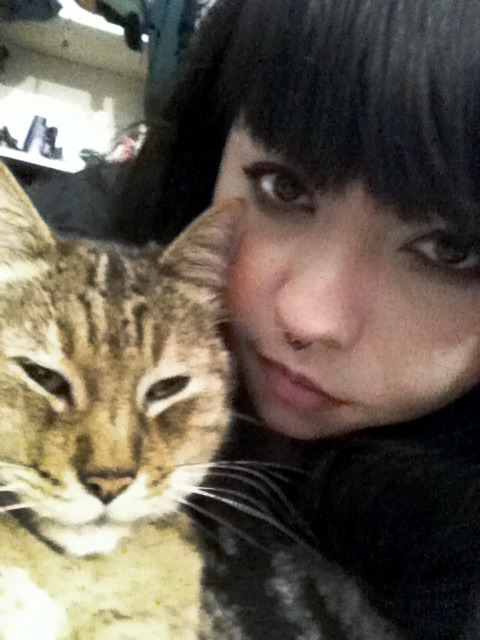 blurry pic of me and my cat, cant believe that in 3 weeks he'll be 14 y/o :O