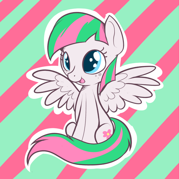 theponyartcollection:  Blossomforth by ~TheCraftPony