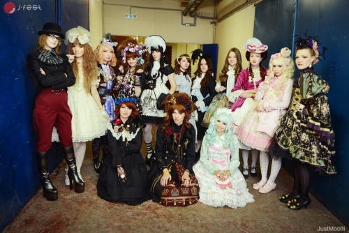 marlessa:   after Gothic&Lolita Festival fashion show at J-FEST 2012  (*≧ω≦)ノ as usual, many thanks to JustMoolti))