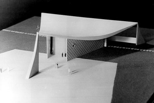 © oscar niemeyer - our lady of fatima church - brasilia, brazil - 1958