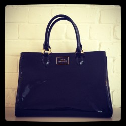 Forget the LBD! All a girl really needs is a BBB (big black bag). Shop the large patent Amelia bag from our SS13 collection online now. LGHQx