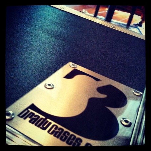 Thank you @bradycases for making me seem legit with an awesome pedalboard. #music #musicians #geartalk #cases #bradycases #pedals #pedalboard