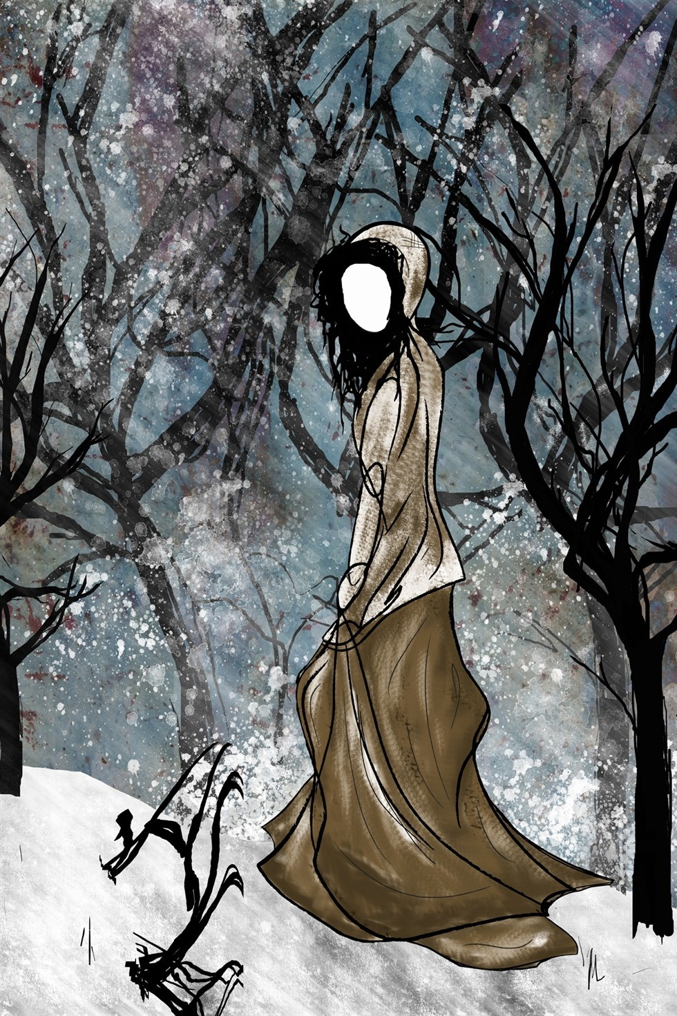 "I just posted ""Winter is coming"" Amy Smith  (United States) via Curioos"