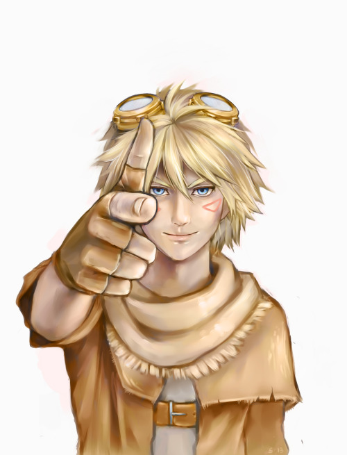 elysiel:  It's been a while, but I drew something! It's Ezreal! I might tweak this some more later… /zzz