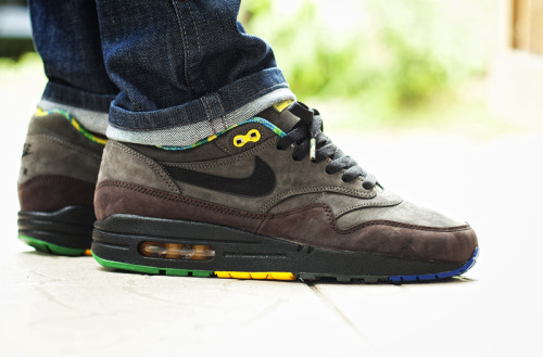 sweetsoles:  Nike Air Max 1 'Black History Month' (by msgt16)