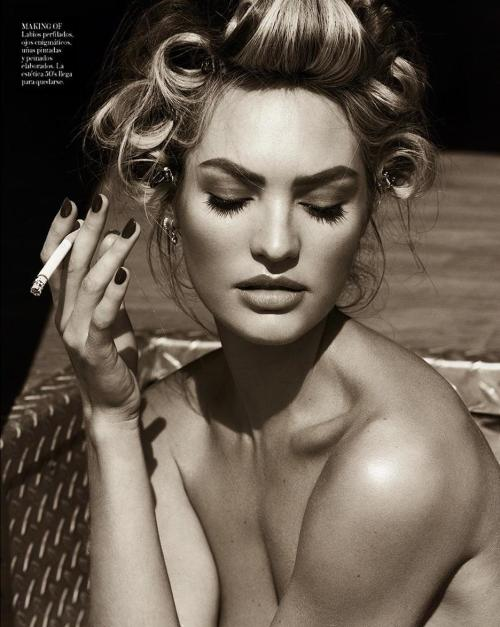 journaldelamode:  Candice Swanepoel by Mariano Vivanco for Vogue Spain April 2013